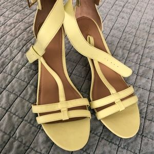 Cato lime yellow size 10 heels. Final price